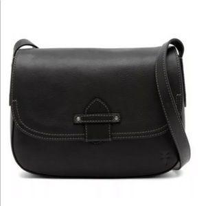Frye Olivia Crossbody Handbag Leather Purse Black